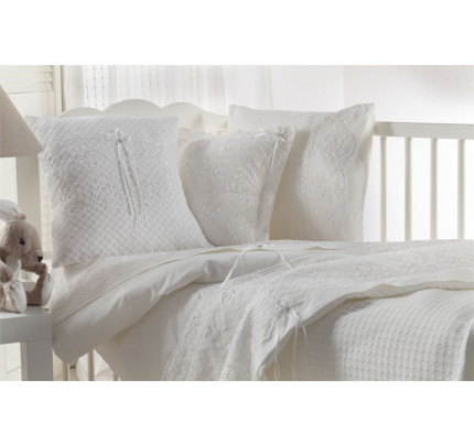 Детское белье в кроватку Gelin BEBE белое