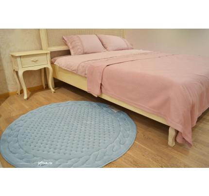 Коврик для ног Gelin Home Erguvan бирюзовый 120 см. (круглый)