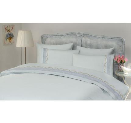 Свадебное постельное белье Gelin Home Mimoza (ментоловый) евро