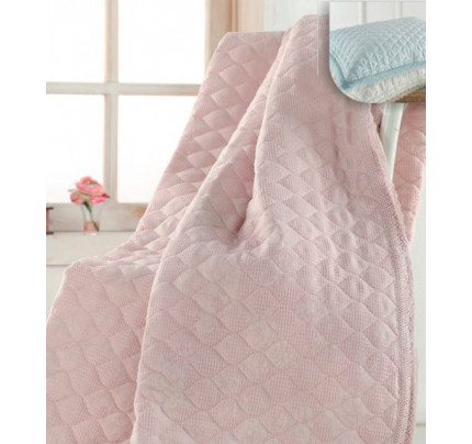 Покрывало Gelin Home Vera (розовое) 230x250