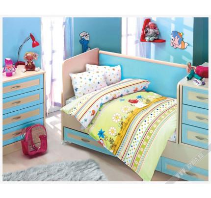 Детское белье в кроватку Altinbasak Gulucuk Песик (зеленое)