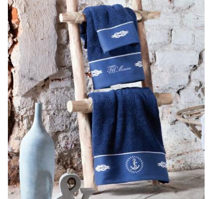 Полотенце Tivolyo Ancora (синее) 50x100