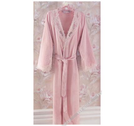 Халат женский Soft Cotton Destan (розовый)