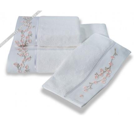 Полотенце Soft Cotton Hayal (белое)