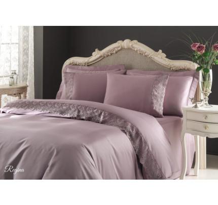 Постельное белье Tivolyo Regina (фиолетовое) евро
