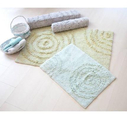Набор ковриков Irya Capri yesil салатовый (60x90+40x60)