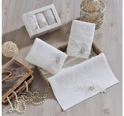 Набор салфеток Irya Emotion (молочный) 30x50 (3 шт.)