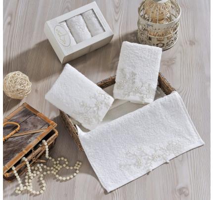 Набор салфеток Irya Sensitive (молочный) 30x50 (3 шт.)