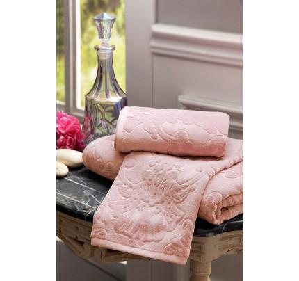 Набор полотенец Tivolyo Jadore (розовый) 3 предмета