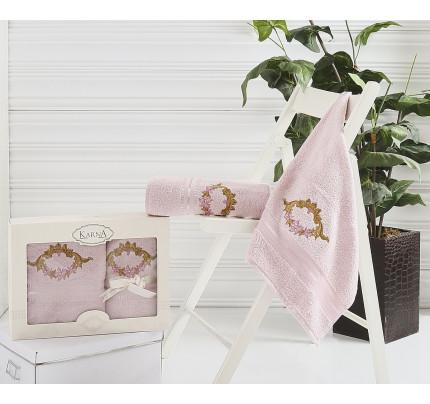 Набор полотенец Karna Karen (светло-сиреневое, 2 предмета)