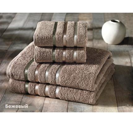 Набор полотенец Karna Bale (кофейный, 4 предмета)