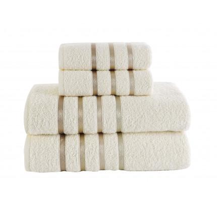 Набор полотенец Karna Bale (кремовый, 4 предмета)