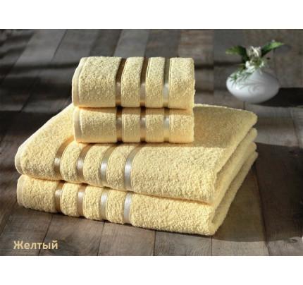Набор полотенец Karna Bale (желтый, 4 предмета)