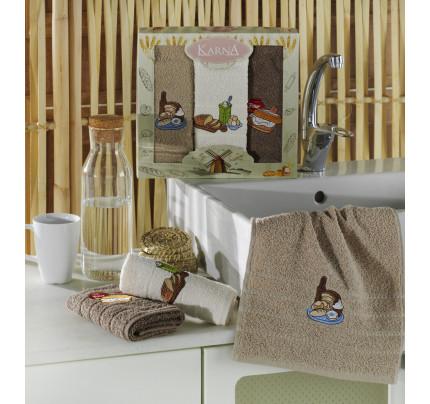Набор салфеток Karna Bred (3 предмета) 30x50