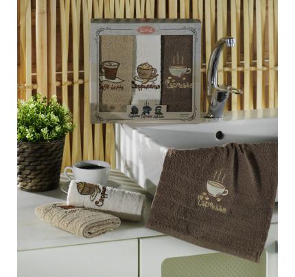 Набор салфеток Karna Cofe Co (3 предмета) 30x50