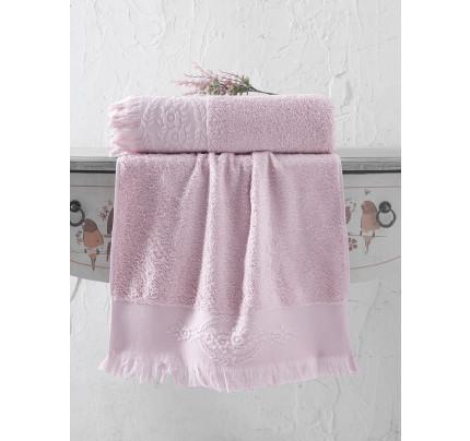 Полотенце Karna Diva (грязно-розовое)