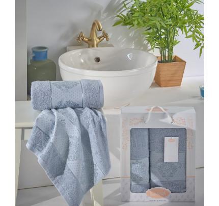 Набор полотенец Karna Dora (голубой, 2 предмета)