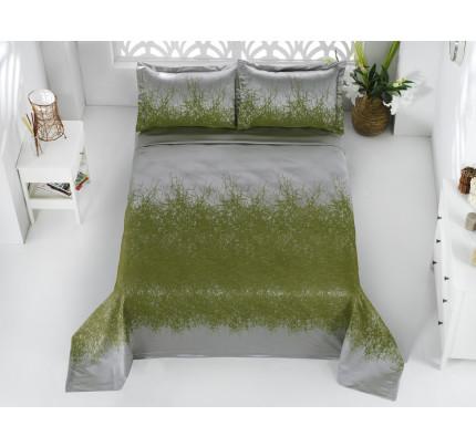 Покрывало Karna Florina (зеленое) 260x260