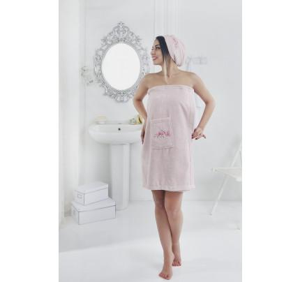 Набор для сауны женский Karna Pera (розовый)