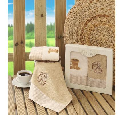 Набор салфеток Karna Tea Set (кофейный) 40x60