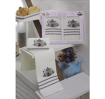 Набор салфеток Karna Votre V3 (2 предмета) 40x60
