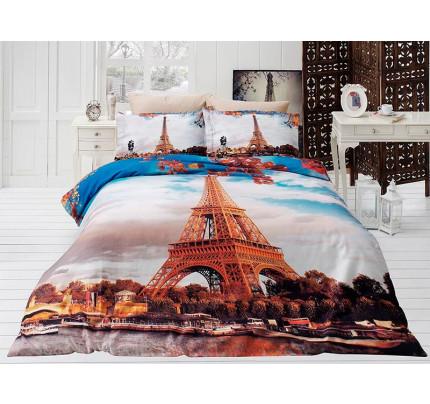 Постельное белье Karven 3D Paris City евро