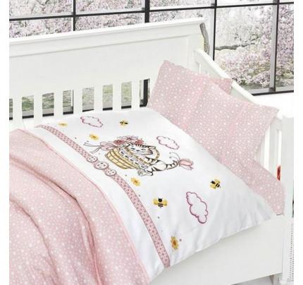 Детское постельное белье First Choice Kitty pembe