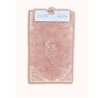 Набор ковриков Gelin Home Hanzade (2 предмета) розовый