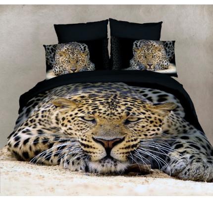 Постельное белье Famille RS-29 Леопард