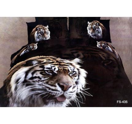 Постельное белье Famille RS-78 Тигр на охоте