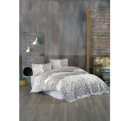 Постельное белье Kristal Home Ahlem коричневый