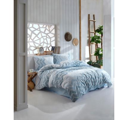 Постельное белье Kristal Home Ahlem синий