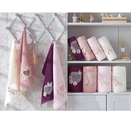 Набор полотенец La Villa Aimer (кремовый) 3 предмета