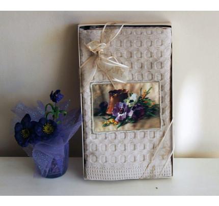 Салфетка La Villa Flower in pot 50x70