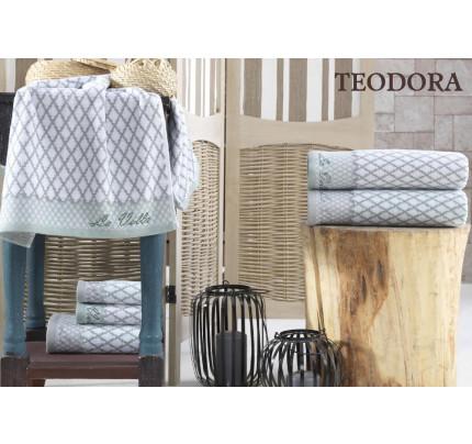 Набор полотенец La Villa Teodora (серый) 3 предмета