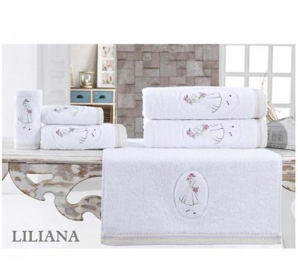 Набор полотенец La Villa Liliana (белый) 3 предмета