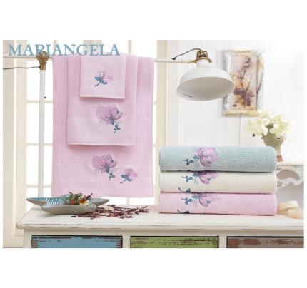 Набор полотенец La Villa Mariangela (кремовый) 3 предмета