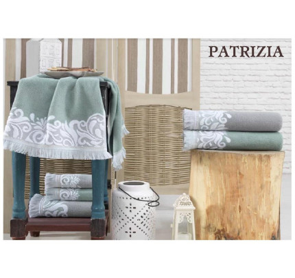 Набор полотенец La Villa Patrizia (зеленый) 3 предмета