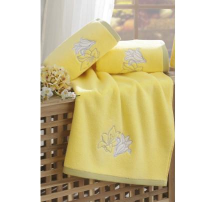 Полотенце Soft Cotton Lilium (желтое)