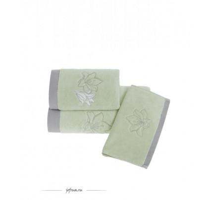 Полотенце Soft Cotton Lilium (светло-зеленое)