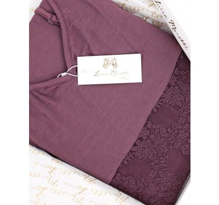 Пижама Luisa Moretti LMS-1132 (темно-сиреневая)