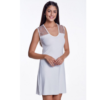 Сорочка Luisa Moretti LMS-3002 (кремовая)