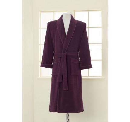 Халат мужской Soft Cotton Lord (фиолетовый)