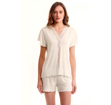 Пижама Luisa Moretti LMS-3036 (кремовая)