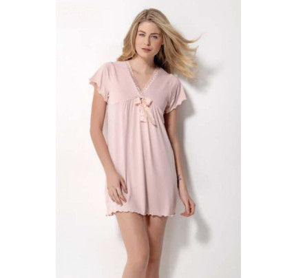 Сорочка Luisa Moretti LMS-1100 (розовая)