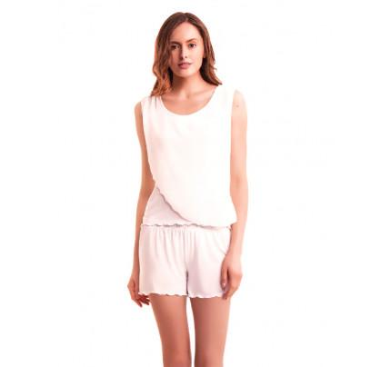 Пижама Luisa Moretti LMS-3027 (кремовая)
