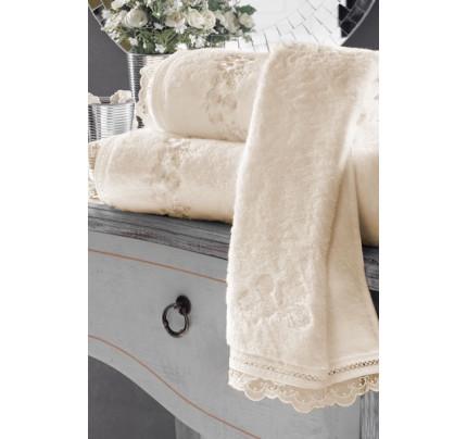 Полотенце Soft Сotton Luna (кремовое)