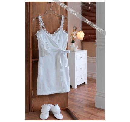 Набор для сауны женский Soft Cotton Luna (белый)
