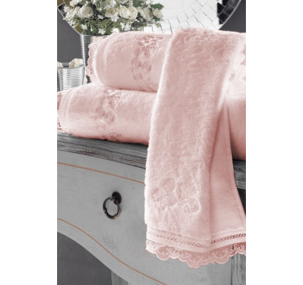 Полотенце Soft Сotton Luna (розовое)