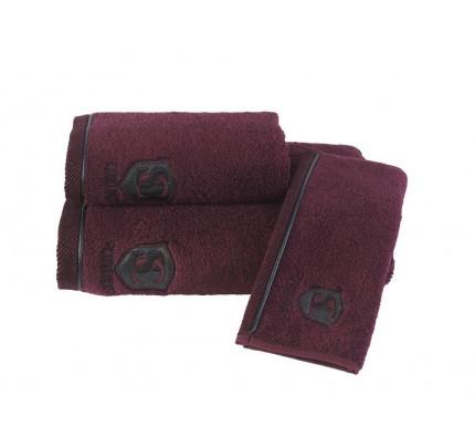 Набор салфеток Soft Cotton Luxure (3 предмета, бордовый)